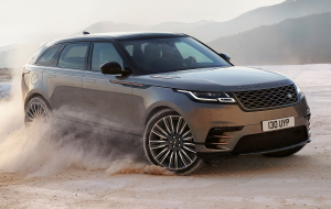 Land Rover Range Rover Velar 2020 Black Widescreen