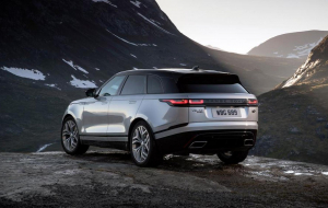 Land Rover Range Rover Velar 2020 Blue Wallpapers For IPhone