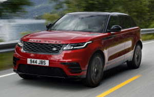 Land Rover Range Rover Velar 2020 Red Wallpaper