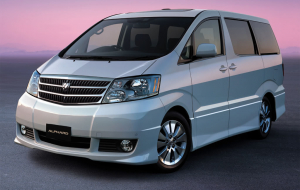 Toyota Alphard 2020 Blue Beautiful Wallpaper