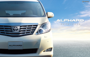 Toyota Alphard 2020 Blue Full HD Wallpapers