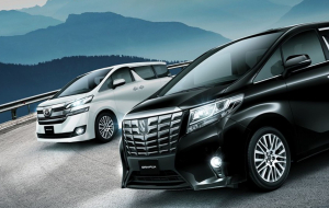 Toyota Alphard 2020 Blue High Resolution