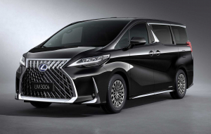 Toyota Alphard 2020 Blue Photos