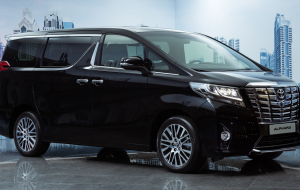 Toyota Alphard 2020 Blue Pictures