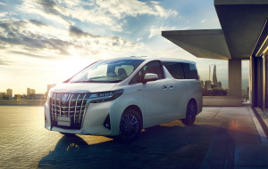 Toyota Alphard 2020 Blue Wallpapers For Android