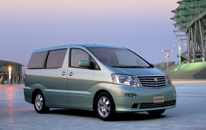 Toyota Alphard 2020 Blue Wallpapers For IPhone