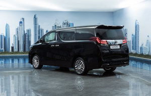 Toyota Alphard 2020 Blue Wallpapers Pack