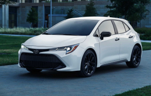 Toyota Corolla 2020 Black Wallpapers HQ