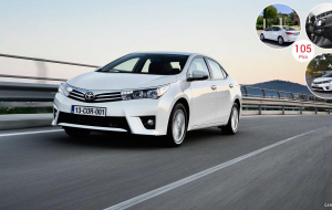 Toyota Corolla 2020 Black Wallpapers Pack