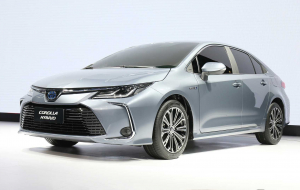 Toyota Corolla 2020 Gray Wallpapers For Android