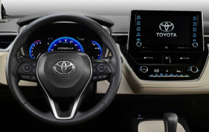 Toyota Corolla 2020 Gray Wallpapers Pack