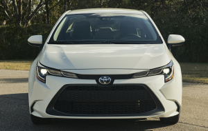 Toyota Corolla 2020 White High Resolution
