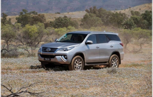 2020 Toyota Fortuner Front HD Wallpaper