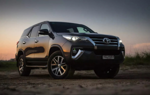 Toyota Fortuner 2020 Black Wallpapers HD