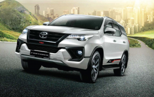Toyota Fortuner 2020 Black Wallpapers HQ