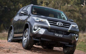 Toyota Fortuner 2020 Black Wallpapers For IPhone