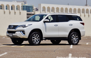 Toyota Fortuner 2020 Black Widescreen
