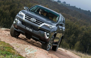 Toyota Fortuner 2020 Green Widescreen