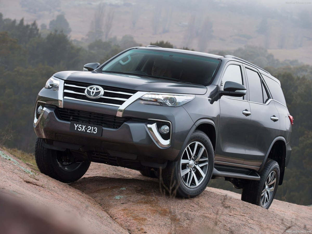 toyota fortuner 2020 red wallpapers backgrounds
