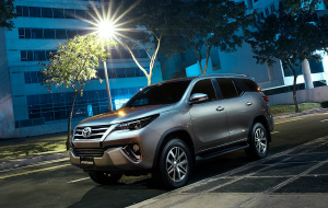 Toyota Fortuner 2020 Red Images