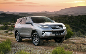 Toyota Fortuner 2020 Red Pics