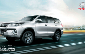 Toyota Fortuner 2020 Red Widescreen