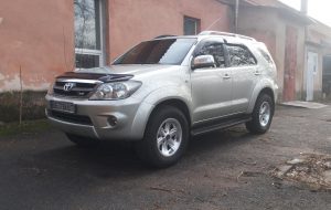 Toyota Fortuner 2020 Silver Widescreen