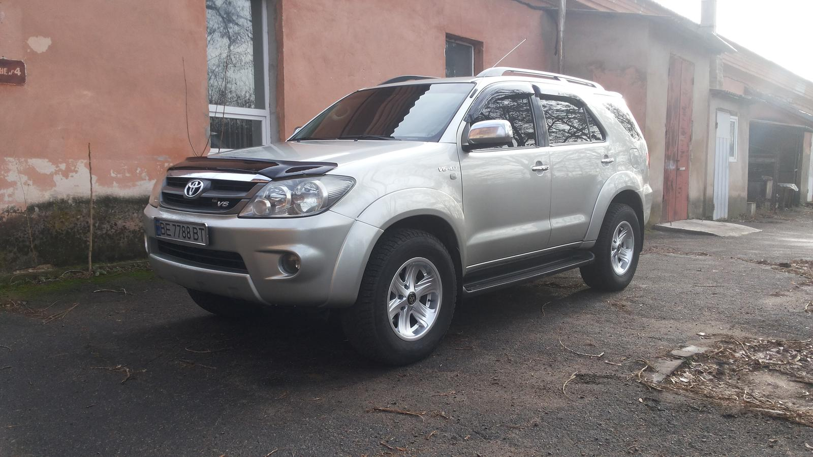 Toyota Fortuner 2020 silver