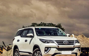 Toyota Fortuner 2020 White Beautiful Wallpaper