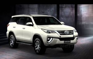 Toyota Fortuner 2020 White Full HD Wallpapers
