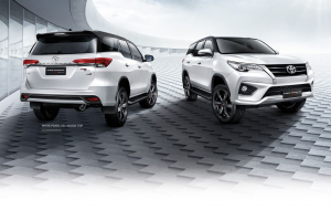 Toyota Fortuner 2020 White Wallpaper