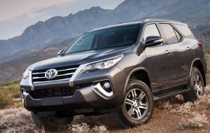 Toyota Fortuner 2020 White Wallpapers For IPhone
