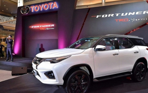 Toyota Fortuner Hybrid 2020 Beautiful Wallpaper