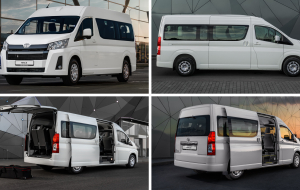 Toyota Hiace 2020 Gray 4K Wallpapers