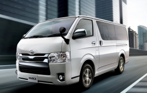 Toyota Hiace 2020 Gray Full HD Wallpapers