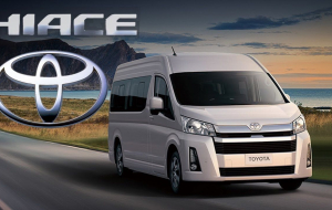 Toyota Hiace 2020 Gray High Resolution