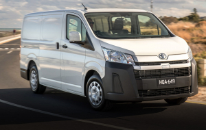 Toyota Hiace 2020 Gray Images