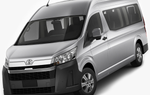 Toyota Hiace 2020 Gray In HQ