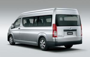 Toyota Hiace 2020 Gray Pictures