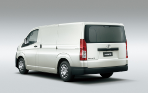 Toyota Hiace 2020 Gray Wallpapers HQ