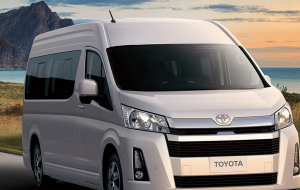 Toyota Hiace 2020 Gray Wallpapers Pack