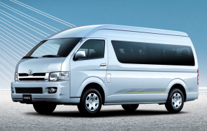 Toyota Hiace 2020 Green 4K Wallpapers
