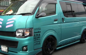 Toyota Hiace 2020 Green Wallpapers HD