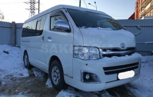Toyota Hiace 2020 Green Wallpapers Pack
