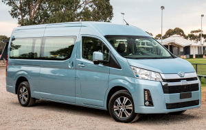 Toyota Hiace 2020 Green Widescreen