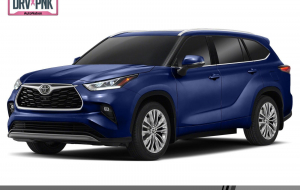 Toyota Highlander 2020 Blue Computer Wallpaper