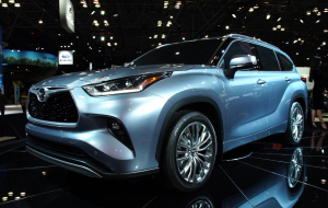 Toyota Highlander 2020 Blue Full HD Wallpapers