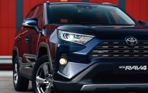 Toyota Highlander 2020 Blue Wallpapers HD