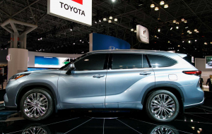 Toyota Highlander 2020 Blue Wallpapers For Android