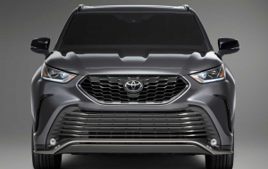 Toyota Highlander 2020 Gray Widescreen